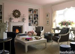 Soft Pink Living Room Paint Color Ideas