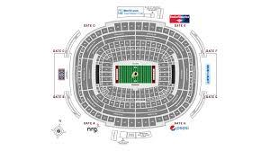Fedex Seating Chart Fedexfield Stadium Guide Washington Redskins Redskins Com
