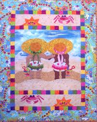 Quilt Patterns For Baby | Barbie's Bug Applique Quilt Pattern ... & Quilt Patterns For Baby | Barbie's Bug Applique Quilt Pattern - Aloha Quilt  Shop Adamdwight.com