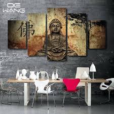 wall decor painting 5 piece zen modern home wall decor painting canvas art print painting canvas wall decor painting