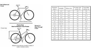 Bike Sport Corner Choosing The Right Bike Frame Size