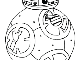 Star Wars Bb 8 Coloring Pages Page Gallery The Force Awakens Free