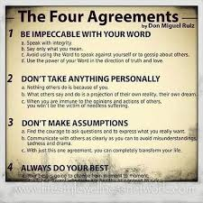 The Four Agreements Quotes Classy Quotes About Agreements 48 Quotes