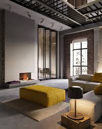 Home Designs: Industrial Interior Texture Ideas - Warehouse Apartment