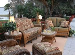 Wicker Patio Cushions – Darcylea Design
