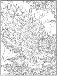 Small Picture Coloring Pages Peacock Printable Designs