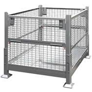 metal storage crates. Contemporary Storage Bin Shelving Corrugated Steel Containers Stackbins Bins  Totes And Metal Storage Crates