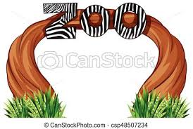 zoo entrance clip art. Perfect Entrance Zoo Entrance With Wood And Grass  Csp48507234 Intended Entrance Clip Art