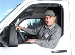 Handsome Truck Driver Stock Photo Picture And Royalty Free Image