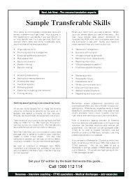 What To Put For Skills On Resume What To Put In Skills Section Of