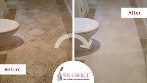 not all damage is permanent and many etch marks and stains in your granite travertine marble or limestone may be buffed out of your stone