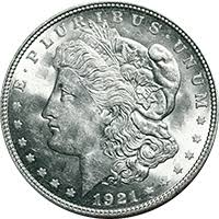 1921 S Morgan Silver Dollar Value Cointrackers