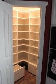 Corner Closet With Doors Home Depot Closet Corner Unit Wood Closet