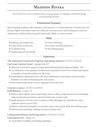 Maple Log Homes Carpentry Laborer Resume Sample Mountain Home
