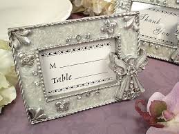 angel placecard photo frame