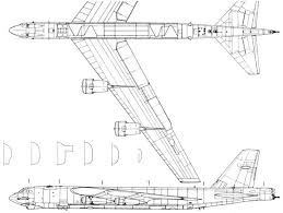 Авиация и космонавтика Стратегические бомбардировщики ВВС США  Характеристики стратегического бомбардировщика В 52h