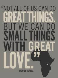 Great Things Great Love Africa Kenya Pinterest Quotes Inspiration Mission Trip Quotes