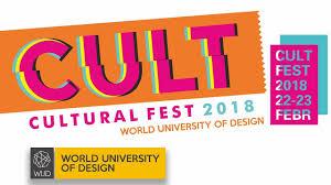 World University Of Design Logo Cult Cultural Fest 2018 Wud