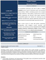 graphics design resumes graphic designer cv format graphic designer resume sample