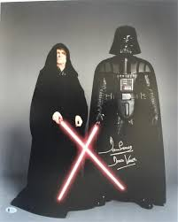 Dave Prowse Autograph 16x20 Star Wars Darth Vader Signed Photo BAS COA —  Zobie Productions