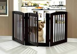 free wood expansion gate canada freestanding pet adjustable deluxe with door large p