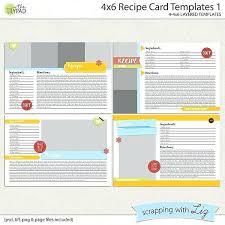 Recipe Card Templates Free Recipe Card Templates 1 4 X 6 Christmas Template Free Editable