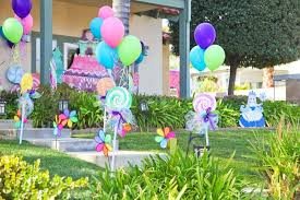 outside birthday party decoration ideas photo pic pic on dfbbddfdcbcbfc  candy land party candy theme jpg