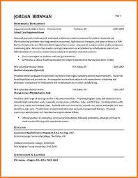 Experienced Nursing Resume Examples Musiccityspiritsandcocktail Com