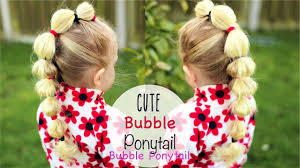 Kid: Easy Ponytail Hairstyle Cute Hairstyles for little girls #1 ...