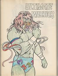 Induction Some Random Wwf Coloring Book From 1991 Ok Actually