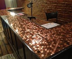 image of penny countertops