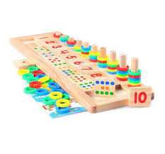 Wooden Math Games Educational Wooden Math Game Board f end 10010010018 100100 PM 32