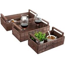 Decorative Display Boxes China Wooden Decorative Storage Crates Wood Planter Display Boxes 68