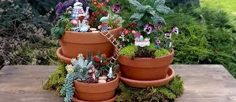 fairy gardens. Fairy Gardening Miniature Gardens My