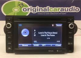 2014 2015 Toyota Tacoma OEM Entune Navigation GPS JBL Radio CD ...