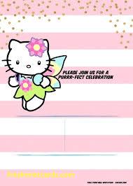 Hello Kitty Invitation Printable Hello Kitty Printable Invitation Supavaluebiz Co