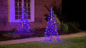 christmas lights outdoor trees warisan lighting. The Best Prelit Led U Fold Flat Outdoor Christmas Tree By Lori Greiner On Pict Of. Uncategorized, Light Lights Trees Warisan Lighting
