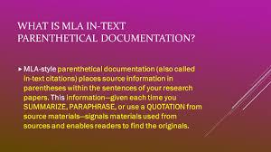 Mla Format Modern Language Association What Is Mla Documentation