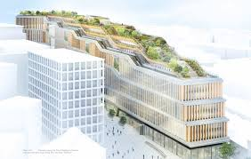 google office address london. the rooftop garden will be perhaps most impressive feature of googleu0027s new london hq image google office address