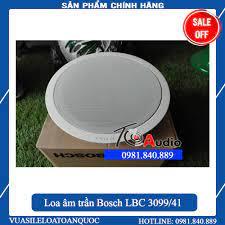 GIÁ HUỶ DIỆT]Loa âm trần Bosch LBC 3099/41 công suất 24w nghe nhạc, thông  báo hàng chính hãng, Giá tháng 5/2021