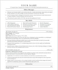Office Manager Resume Template Inspiration Front Office Resume Examples Front Desk Resume Sample Here Are Front