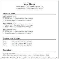 Formats For Resume Interesting Resume Format Picture Samples Of Resume Formats Resume For Job