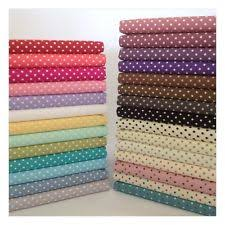 Polka Dot Fabric   eBay & 3mm Polka Dot 100% Cotton Fabric, Sewing, Craft, Spots, 20 Colours Adamdwight.com