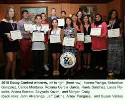 tampa hispanic heritage inc essay contest awards the tampa hispanic heritage inc 29th annual essay contest awards ceremony was a wonderful success
