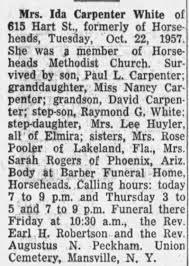 Obituary for Ida Carpenter White - Newspapers.com
