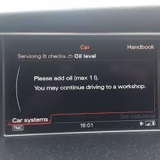 Audi Q5 Oil Light Please Add Oil Max 1 L Audi Sport Net