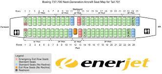 boeing 737 700 next generation jet aircraft big seat configuration