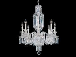chandelier with swarovski crystals fairfax chandelier by schonbek
