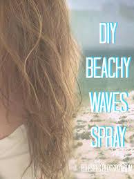 beach week diy beachy waves spray
