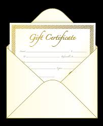 our gift certificates are good for any of our many services and can be bought in any denomination birthdays anniversaries parties holidays